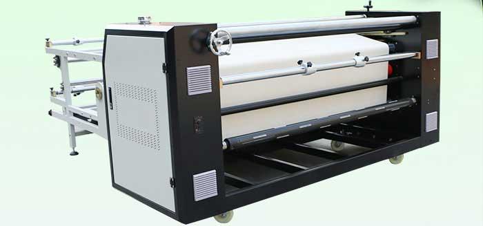 دستگاه کلندر چاپ پارچه مدل F4217c