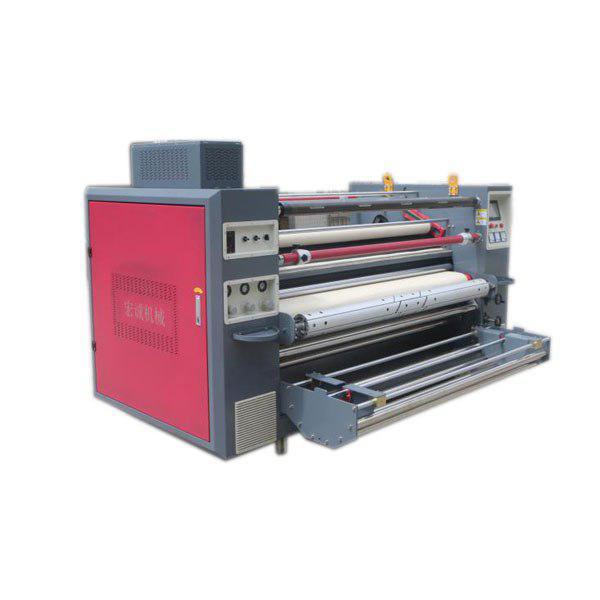 دستگاه کلندر چاپ پارچه رول به رول