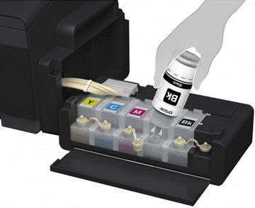 پرينتر جوهر افشان رنگی اپسون مدل L1300